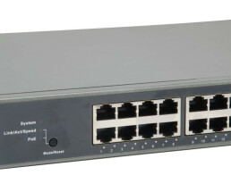 LevelOne GEP-2851 - Switch - L3 - Smart - 24 x 10/100/1000 (PoE+) + 4 x Gigabit SFP - an Rack montierbar - PoE+ (370 W)