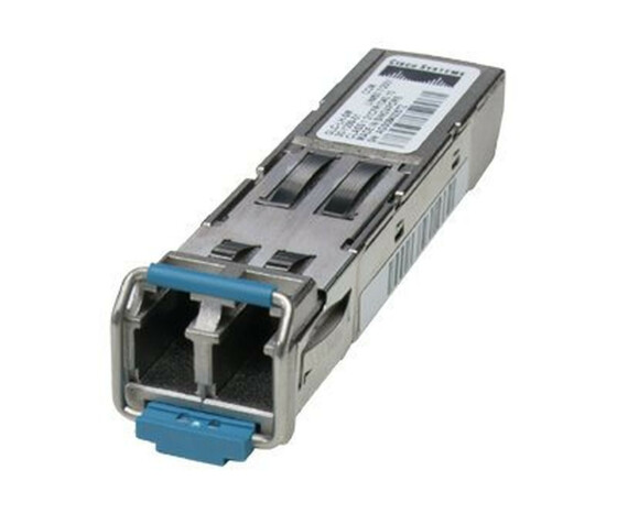 Cisco - SFP (Mini-GBIC)-Transceiver-Modul - GigE - 1000Base-LX, 1000Base-LH - LC/PC Einzelmodus - bis zu 10 km - 1310 nm - für Cisco 4451; Catalyst 29XX; Integrated Services Router 11XX; Nexus 93180, 93XX; UCS 62XX
