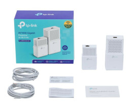 TP-LINK AV1000 Gigabit Powerline ac Wi-Fi Kit TL-WPA7510 Kit - Bridge - Powerline