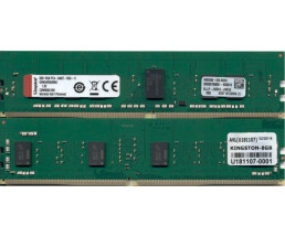 Kingston Server Premier - DDR4 - 8 GB - DIMM 288-PIN - 2400 MHz / PC4-19200 - CL17 - 1.2 V - registriert - ECC
