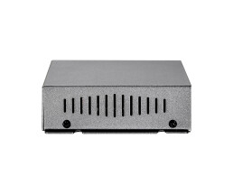 LevelOne 5-Port Fast Ethernet PoE Switch - 802.3af PoE - 4 PoE Outputs - 61.6W - Fast Ethernet (10/100) - Full duplex - Power over Ethernet (PoE)
