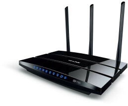TP-LINK wireless router Archer C7 AC1750 - AC1750 Wireless Dual Band Gigabit Router - 1750Mbps
