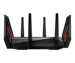 ASUS Rapture GT-AX11000 - Tri-band (2.4 GHz / 5 GHz / 5 GHz) - Wi-Fi 5 (802.11ac) - 4804 Mbit/s - 802.11a,Wi-Fi 5 (802.11ac),802.11b,802.11g,Wi-Fi 4 (802.11n) - 1148 Mbit/s - 4804 Mbit/s