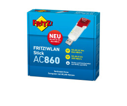 AVM FRITZ!WLAN Stick AC 860 - Wired & Wireless - USB...