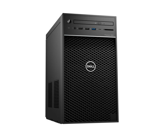 Dell Precision 3630 Tower - MT - 1 x Core i7 8700U - RAM 8 GB - SSD 256 GB - DVD-Writer - Quadro P620 - GigE - Win 10 Pro 64-Bit - vPro - Monitor: keiner - BTS - mit 1 Year Basic Hardware Warranty (IE, UK, CH - 3 Years)