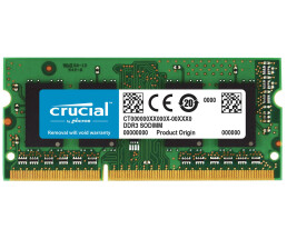 Crucial - DDR3 - 4 GB - SO DIMM 204-PIN - 1333 MHz /...