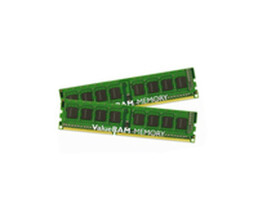 Kingston ValueRAM - DDR3 - 16 GB: 2 x 8 GB - DIMM 240-PIN - 1333 MHz / PC3-10600 - CL9 - 1.5 V - ungepuffert - non-ECC