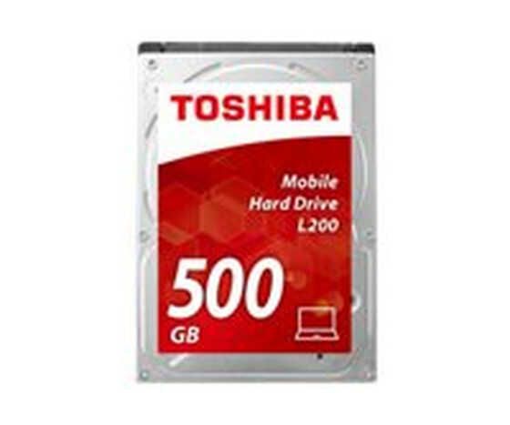 Toshiba L200 Laptop PC - Festplatte - 500 GB - intern - 2.5 (6.4 cm) - SATA 3Gb/s - 5400 rpm - Puffer: 8 MB