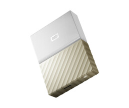 WD My Passport Ultra - 3000 GB - 3.2 Gen 1 (3.1 Gen 1) - Gold,White