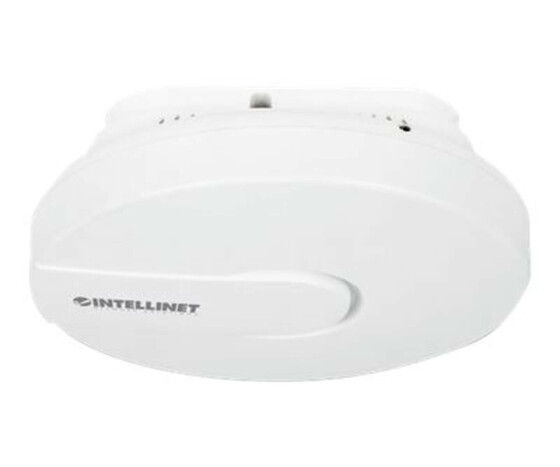 Intellinet High-Power Ceiling Mount Wireless 300N PoE Access Point - Funkbasisstation - Wi-Fi - 2.4 GHz - Gleichstrom - in der Decke
