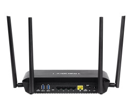TRENDnet TEW-827DRU AC2600 StreamBoost MU-MIMO WiFi Router - Wireless Router - 4-Port-Switch - GigE - 802.11a/b/g/n/ac - Dual-Band