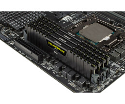 Corsair Vengeance LPX 8x16GB DDR4 - 128 GB - 8 x 16 GB - DDR4 - 2666 MHz - 288-pin DIMM - Black