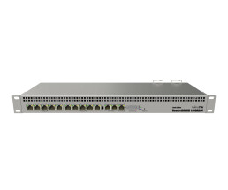 MikroTik RouterBOARD RB1100AHx4 - Dude Edition - Router - 13-Port-Switch - GigE - an Rack montierbar