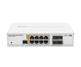 MikroTik Cloud Router Switch CRS112-8P-4S-IN - Switch -...