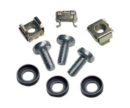 Intellinet Cage Nut Set - 100 pieces - Cage nuts pack -...