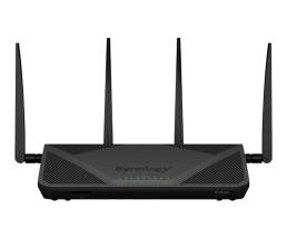 Synology RT2600ac - Wireless Router - 4-Port-Switch - GigE - WAN-Ports: 2 - 802.11a/b/g/n/ac - Dual-Band