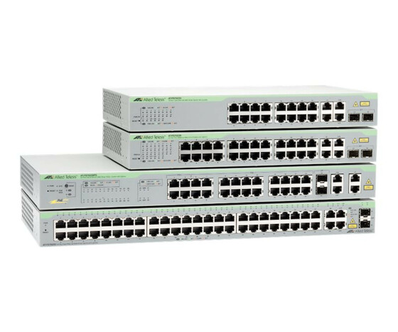 Allied Telesis AT-FS750/20-50 - Managed - Fast Ethernet (10/100) - Rack mounting - 1U