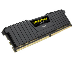 CORSAIR Vengeance LPX - DDR4 - 8 GB - DIMM 288-PIN - 3000 MHz / PC4-24000 - CL16 - 1.35 V - ungepuffert - non-ECC - Schwarz