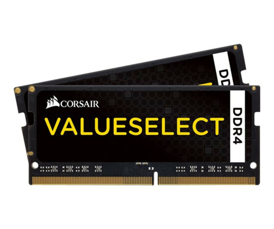 Corsair ValueSelect 16GB DDR4-2133 - 16 GB - 2 x 8 GB - DDR4 - 2133 MHz - 260-pin SO-DIMM