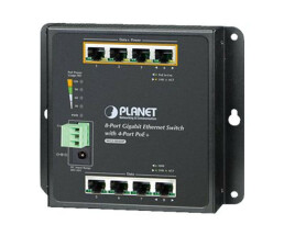 Planet 8-Port 10/100 / 1000T Wall Mounted Switch with...