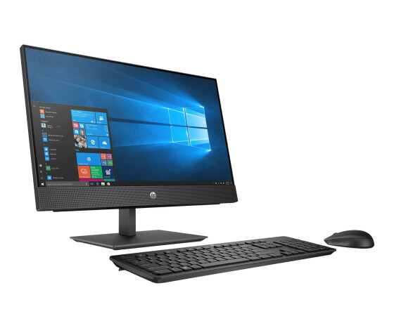 HP ProOne 440 G4 - All-in-One (Komplettlösung) - 1 x Core i5 8500T / 2.1 GHz - RAM 16 GB - SSD 512 GB - NVMe - DVD-Writer - UHD Graphics 630 - GigE, Bluetooth 5.0 - WLAN: 802.11a/b/g/n/ac, Bluetooth 5.0 - Win 10 Pro 64-Bit - Monitor: LED 60.45 cm (23.8)
