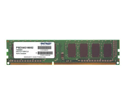 PATRIOT Memory 4GB PC3-12800 - 4 GB - 1 x 4 GB - DDR3 -...
