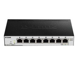 D-Link EasySmart Switch DGS-1100-08P - Switch - verwaltet - 8 x 10/100/1000 (PoE) - Desktop - PoE