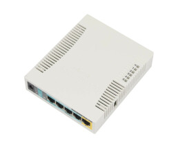 MikroTik RouterBOARD 951Ui-2HnD w/600Mhz CPU 1 - Router -...