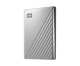 WD My Passport Ultra - 1000 GB - Black,Silver