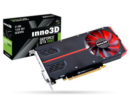 Inno3D Geforce GTX 1050Ti - 1-Slot Edition - Grafikkarten