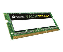 CORSAIR Value Select - DDR3L - 8 GB - SO DIMM 204-PIN - 1600 MHz / PC3-12800 - CL11 - 1.35 V - ungepuffert - non-ECC