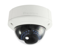 LevelOne IPCam FCS-3085 Dome Out 4MP H.264 IR5.5W PoE - 4 MP - 2688 x 1520