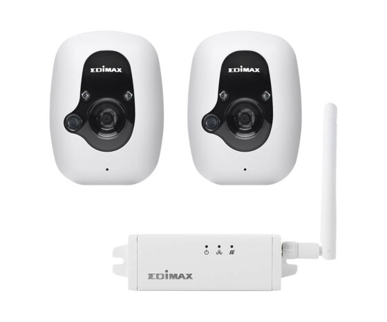 Edimax IC-3210WK - IP security camera - Indoor - Wired & Wireless - Box - Ceiling/Wall - White