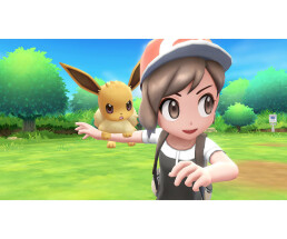 Nintendo Pokémon: Lets Go - Pikachu! - PlayStation 4 - Action / RPG - Multiplayer mode - RP (Rating Pending)