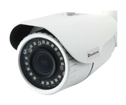 LevelOne IPCam FCS-5102 Z 4x Fix Out 3MP H.265 IR 8W PoE - Network Camera