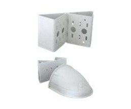 Mobotix D15 Wall- and pole mount set - Pole / Corner Mount + Wall Mount - 3 mm stainless steel