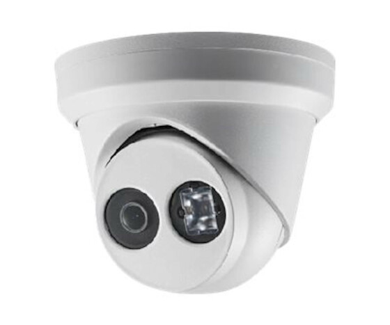 Hikvision DS-2CD2343G0-I - IP security camera - Outdoor - Wired - Dome - Ceiling/Wall - White