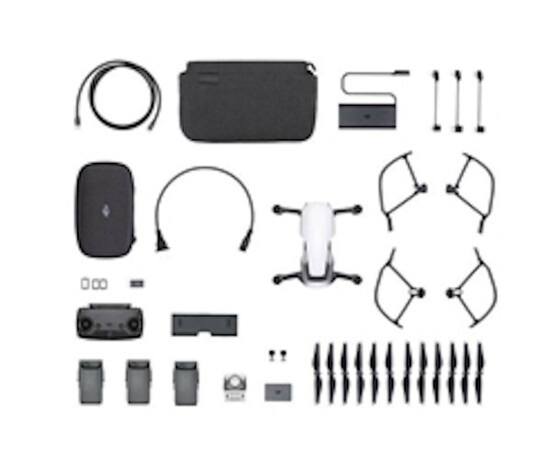 DJI Mavic Air Fly More Combo Arctic Whit