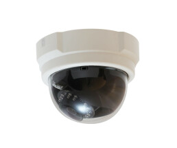 LevelOne HUBBLE Fixed Dome IP Network Camera - 5-Megapixel - 802.3af PoE - IR LEDs - IP security camera - Wired - CE - FCC - ONVIF - Dome - Ceiling/Wall - Black,White