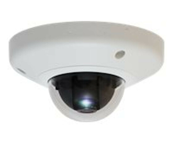 LevelOne HUBBLE Fixed Dome IP Network Camera - 5-Megapixel - 802.3af PoE - Vandalproof - IP security camera - Wired - CE - FCC - ONVIF - IK08 - Dome - Ceiling/Wall - White