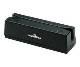Manhattan Magnetic Strip Card Reader - USB - Triple Track...