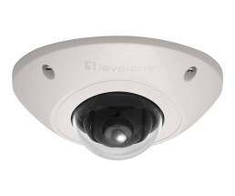 LevelOne GEMINI Fixed Dome IP Network Camera - 2-Megapixel - 802.3af PoE - Vandalproof - Indoor/Outdoor - IP security camera - Indoor & outdoor - Wired - CE - FCC - ONVIF - Dome - Ceiling