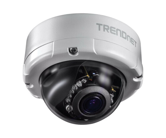 TRENDnet TV-IP345PI - IP security camera - Indoor & outdoor - Wired - German - English - Spanish - French - Russian - CE - FCC - IK10 - Dome