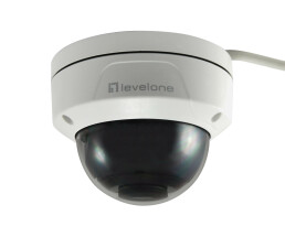 LevelOne GEMINI Fixed Dome IP Network Camera - H.265 -...