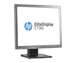 "HP EliteDisplay E190i - LED-Monitor - 48 cm (18.9"") (18.9"" sichtbar) - 1280 x 1024 - IPS - 250 cd/m² - 1000:1 - 14 ms - DVI-D, VGA, DisplayPort - Schwarz"