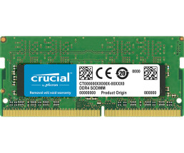 Crucial - DDR4 - 4 GB - SO DIMM 260-PIN - 2666 MHz /...