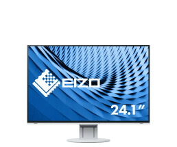 "EIZO FlexScan EV2457-WT - LED-Monitor - 61.1 cm (24.1"") - 1920 x 1200 - IPS - 350 cd/m² - 1000:1 - 5 ms - HDMI, DVI-D, DisplayPort - Lautsprecher - weiß"