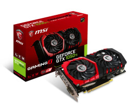 MSI GeForce GTX 1050 Ti Gaming X 4G - GeForce GTX 1050 Ti...