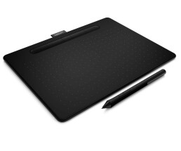 Wacom Intuos M with Bluetooth - Digitalisierer - rechts-...