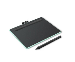 Wacom Intuos Intuos S - Wired & Wireless - 2540 lpi - 152 x 95 mm - USB/Bluetooth - 7 mm - Pen